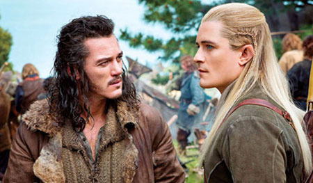 Bard speaks with Legolas
