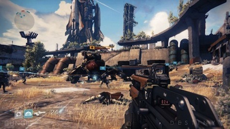 Destiny, from the creators of Halo.