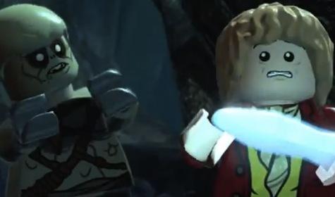 The sword is glowing! Turn around Bilbo! Turn Around!