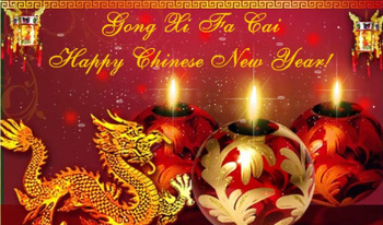A traditional tiding on Chinese New Year