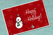 Preview holiday card pre