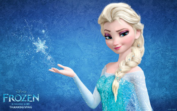 It's not a figure of speech when Anna says her sister is an Ice Queen!