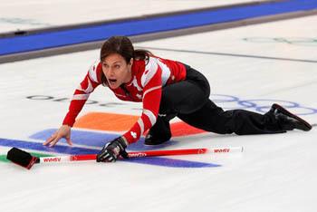 Curling Pose