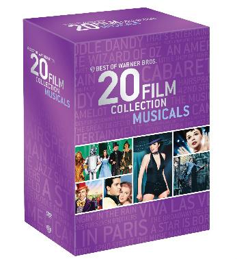 Warner Bros. 20 Film Collection Musicals DVD