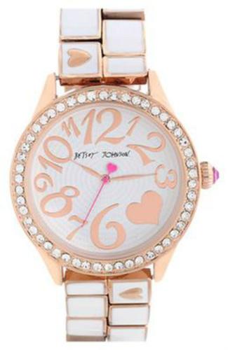 Betsy Johnson Round Bracelet Watch