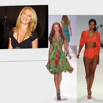 Nanette Lepore's girly, flirty designs look great on the runway. Offstage, Nanette loves basic black dresses, simple accessories and clean makeup.