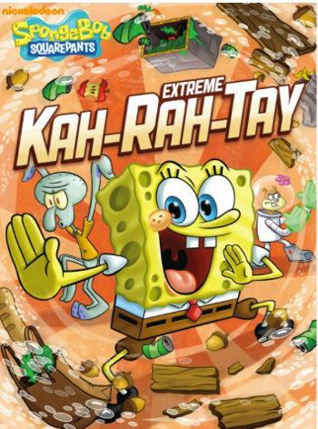 SpongeBob SquarePants: Extreme Kah-Rah-Tay! on DVD hits stores January 15th