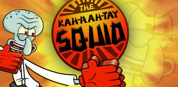 Squidward learns Karate for revenge