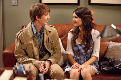 Victoria with Thomas Mann in the movie