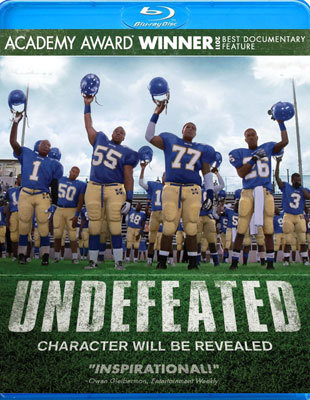 Undefeated on blu-ray