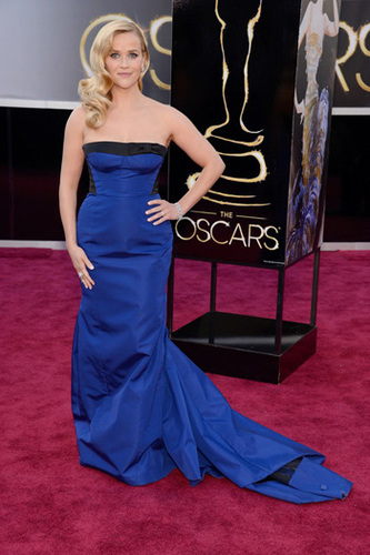Reese Witherspoon in Louis Vuitton gown her daughter picked out