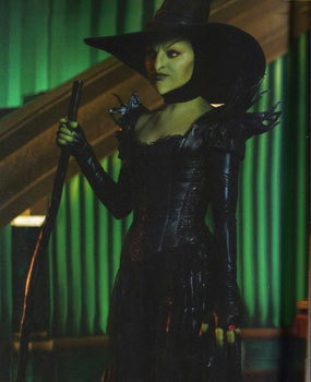 Mila as Wicked Witch