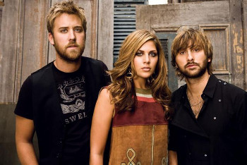Lady Antebellum is made up of Dave, Hilary and Charles