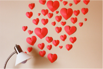 Hearts Away! Surprise Your Loved One With a Heart Bomb!