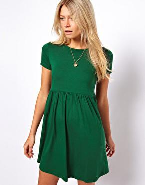 Asos green dress, $37