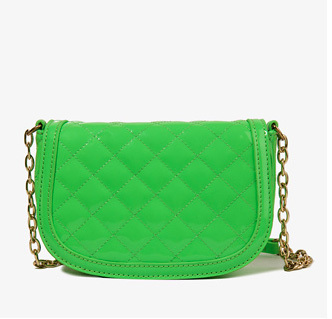 Forever 21 green quilted bag, $19.80