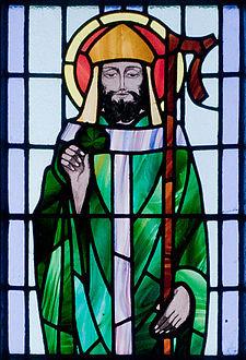 St. Patrick at St. Benin's Church in Ireland