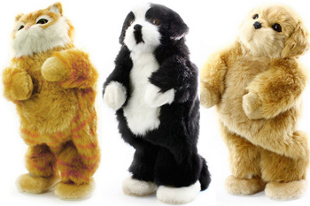 There are 4 collectible Party Animals
