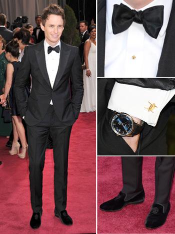 Eddie Redmayne looking dapper at the Oscars