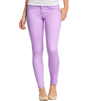 Old Navy lilac jeans, $15