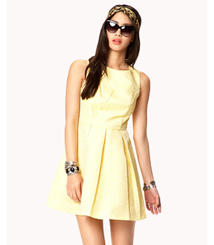 Forever 21 yellow dress, $27
