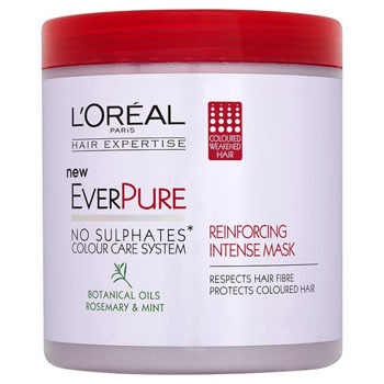 L'Oreal EverPure Reinforcing Hair Mask, $8