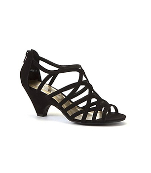 New Look strappy black sandals, $30