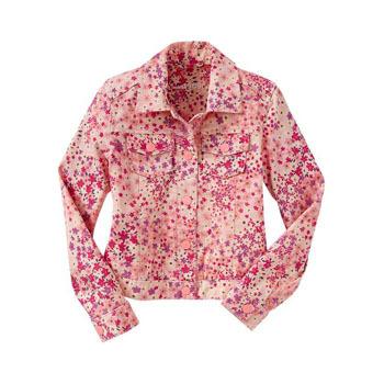 Gap floral denim jacket, $22