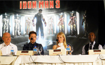 Sir Ben, Robert, Gwyneth and Don at the interview