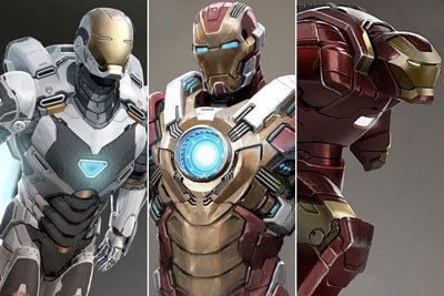 Tony's new Iron Man army