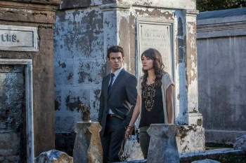 Elijah in the cemetary