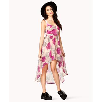 Forever 21 rose dress, $21
