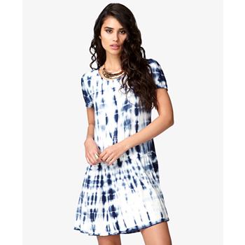 Forever 21 tie dye dress, $21