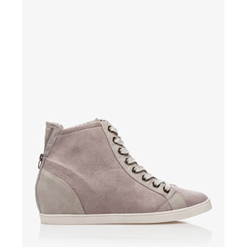 Forever 21 grey suede high tops, $25
