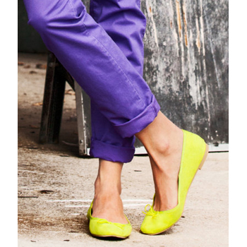 H and M ballet flats, $15