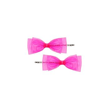Topshop bow hair clips, $8