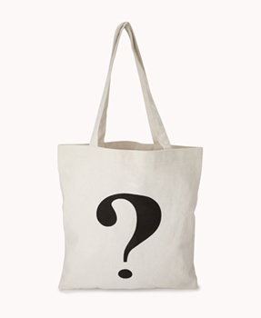 Forever 21 question mark, $6