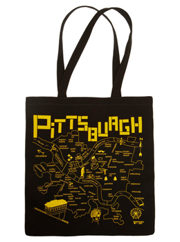 Modcloth Pittsburgh tote, $19.99