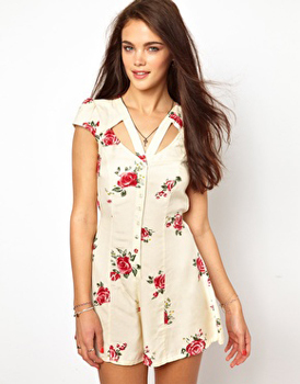 River Island floral, $50