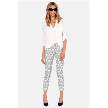 Lulu's printed pants, $47