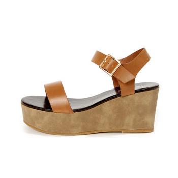 Lulu's wedge sandals, $31