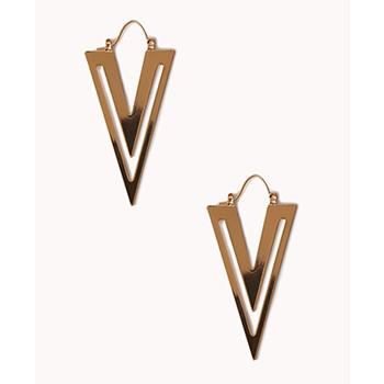 Forever 21 earrings, $7