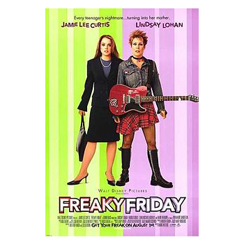Watch Disney's Freaky Friday DVD with mum!