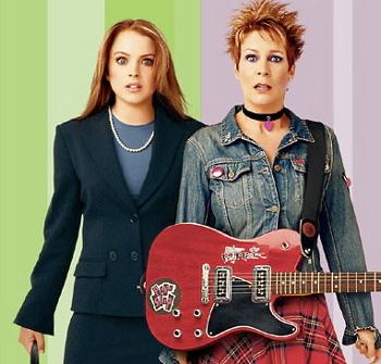 Lindsay Lohan and Jamie Lee Curtis in Freaky Friday