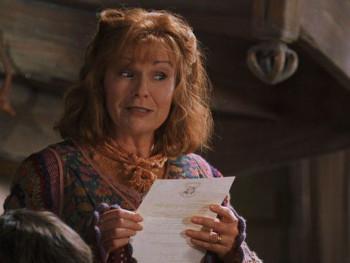 Molly Weasley in Harry Potter