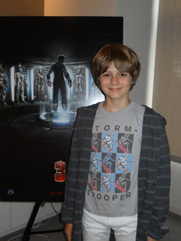 Ty Simpkins at our interview