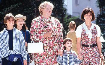 Sally Field in Mrs. Doubtfire