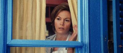 Mom Martha (Diane Lane) worries about Clark Kent