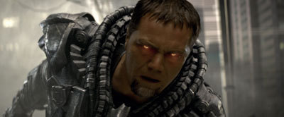 Michael Shannon as the evil Zod