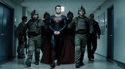 Superman is taken prisoner
